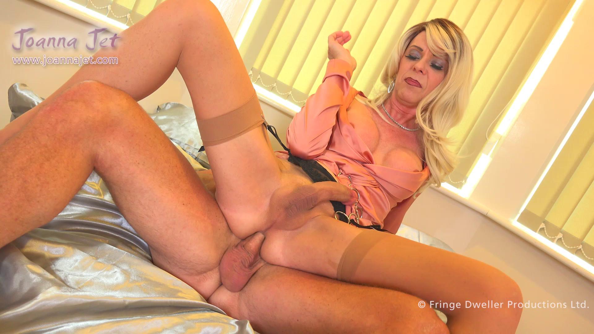 Classy Tranny Milf Joanna Jet Enjoys Passionate Foreplay And Sex